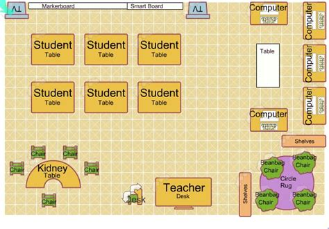 floor plan classroom classroom floor plan build it bigger unit plan