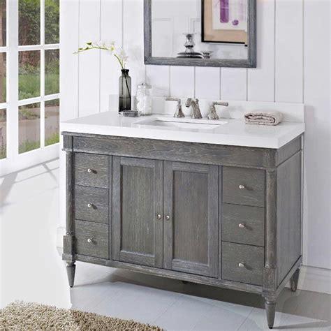 fairmont designs bathroom vanities fairmont designs rustic chic 48 quot vanity 142 v48 143 v48