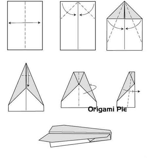 how to make origami paper planes how to make paper airplanes origami pie