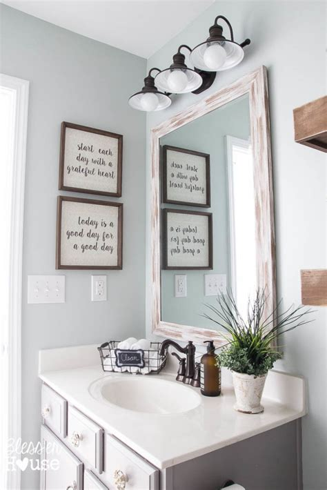 modern bathroom color modern farmhouse bathroom makeover reveal