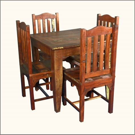 wood table and chairs reclaimed wood dining table and chairs marceladick