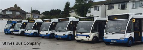st company st ives buses local services park and ride