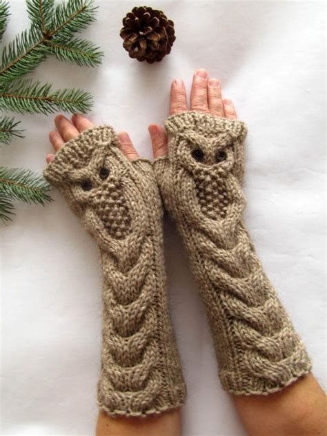 knitting patterns for owls owl mittens knitting pattern free search