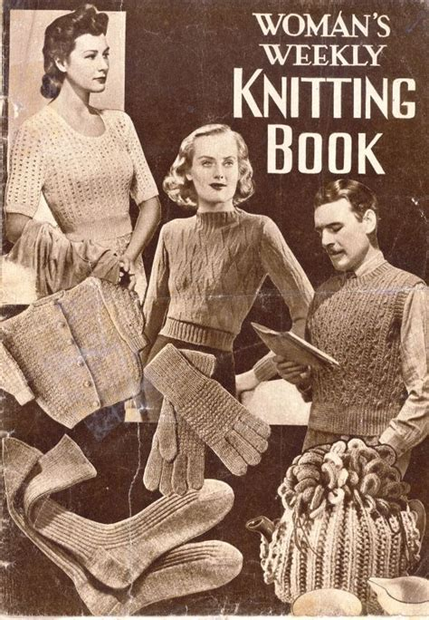 weekly knitting patterns s weekly knitting book by amalgamated press