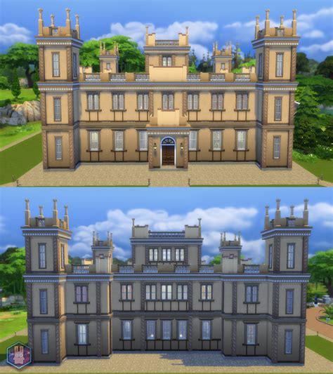 Mini Homes mod the sims downton abbey highclere castle no cc