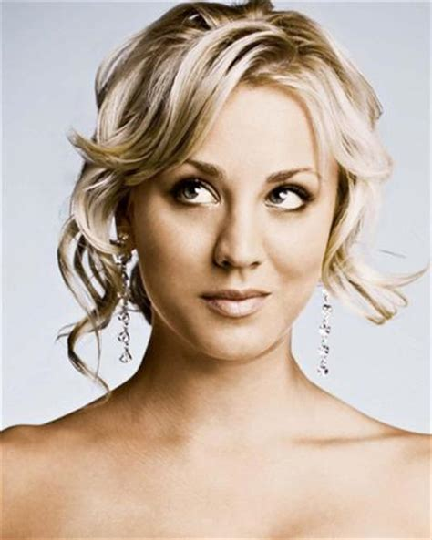 S Kaley Cuoco Hairstyles