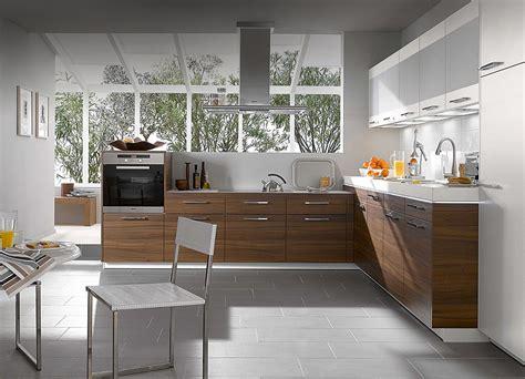 kitchens designs kitchen designs from warendorf walnut compact kitchen design