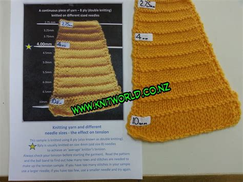 what size knitting needles for knit wool knitting yarn different needle sizes