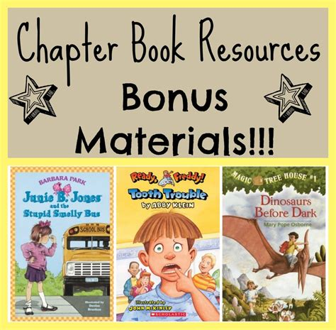 picture chapter books chapter book resources bonus materials