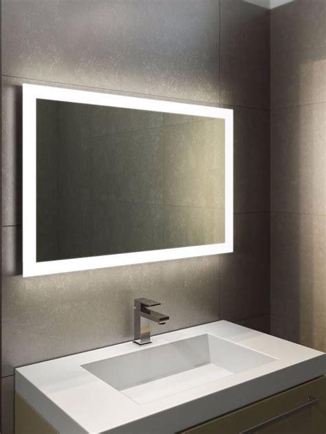 wide bathroom mirror halo wide led light bathroom mirror light mirrors
