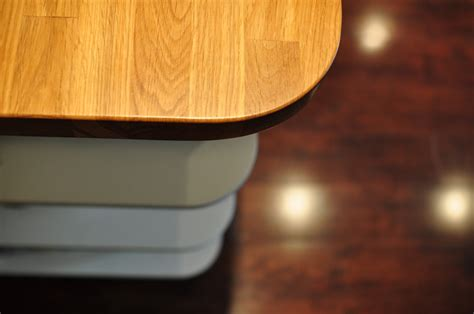 woodworking rounded edges custom kitchens designed and built by bassett s finishing