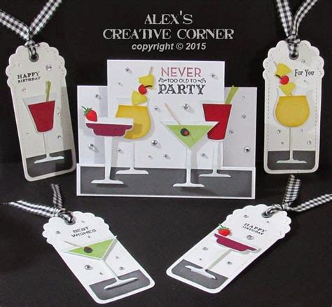 corner punches for card alex s creative corner time cocktail gift card set