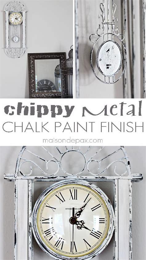 diy chalk paint chipping best 25 metal on metal ideas on metal
