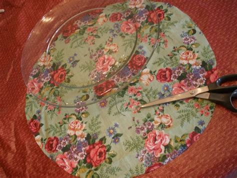 decoupage plates with fabric best 25 decoupage glass ideas on decoupage
