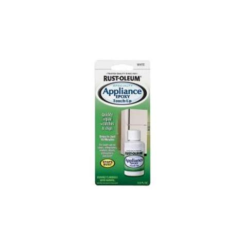 Rust Oleum Specialty 0 6 Oz Gloss White Appliance Touch
