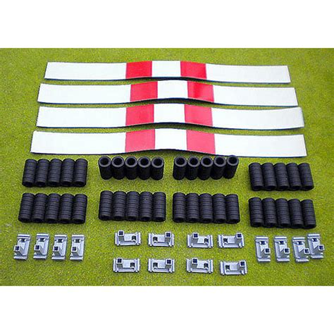 pre made rubber sts slot track scenics pack 3 tyres covers sts a1 3