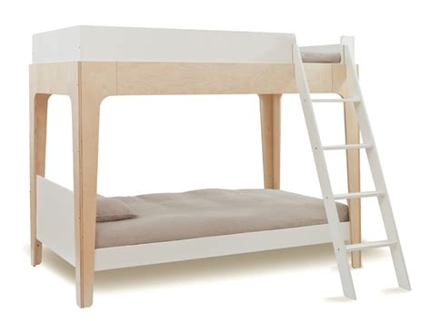 birch bunk bed perch bunk bed in white birch by oeuf