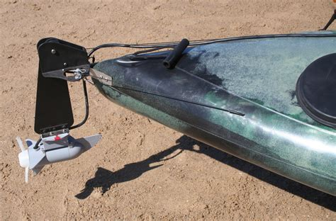 Kayak Electric Motor by Bass Fishing Kayak With Motor Made In Australia By