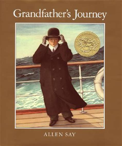 picture books about journeys top 100 picture books 46 grandfather s journey by allen