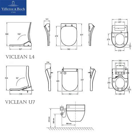 Villeroy Boch Subway Toilet Installation Instructions villeroy boch viclean u shower toilet tooaleta