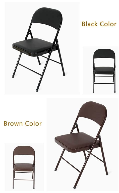 folding living room chair living room furniture used metal folding chair buy metal