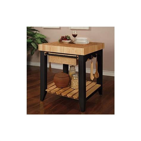 powell color story butcher block kitchen island colder color story black butcher block kitchen island 502 416