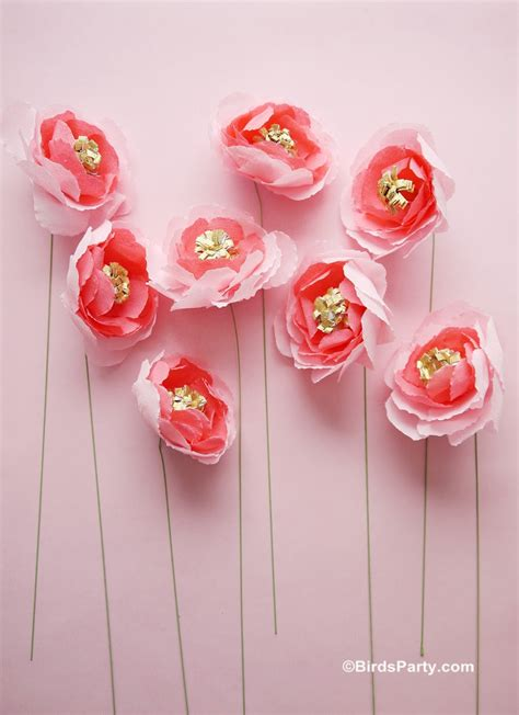roses paper craft diy crepe paper flowers bouquet ideas