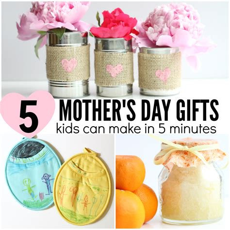 gifts for to make 5 s day gifts can make in 5 minutes or less