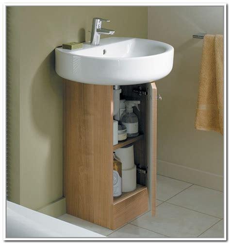 bathroom storage ideas sink sink storage for pedestal sinks home design ideas