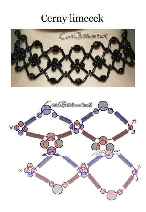 seed bead choker patterns seed bead pattern beadwork
