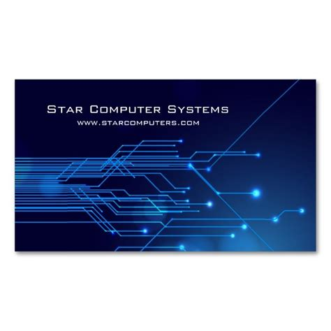 cards on the computer 425 best images about computer business card templates on
