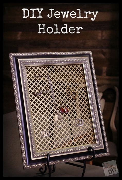 make your own jewelry organizer make your own diy jewelry organizer of diy