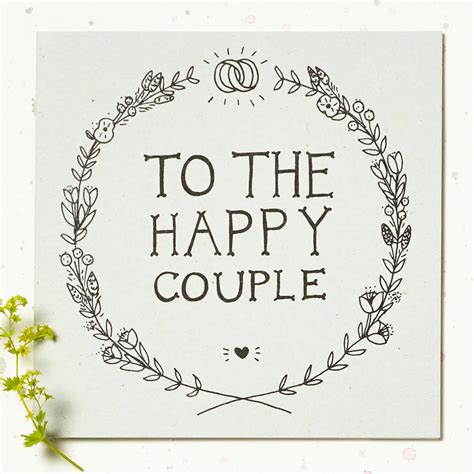 wedding card to the happy wedding card by wolf whistle