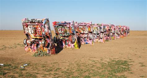 The Cadillac Ranch by Cadillac Ranch Has Garbage Problem Gm Authority