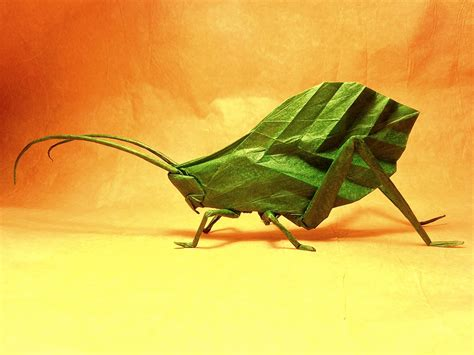 origami insect 24 more amazingly realistic looking origami insects