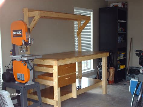 woodworking services shop bench
