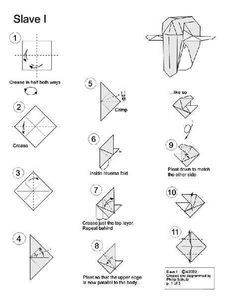 origami wars ships 10 diagrams to create your own quot wars quot origami