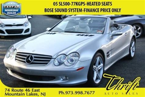 Mercedes Financial Services Phone Number by Find Used 05 Sl500 77kgps Heated Seats Bose Sound System