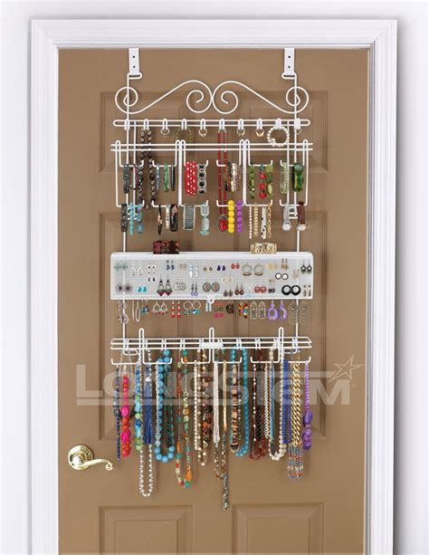 how to make a hanging jewelry organizer hanging jewelry organizer mycosmeticorganizer