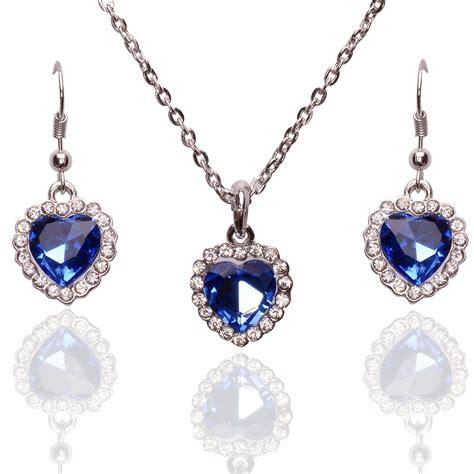 jewelry cheap silver jewelry set pendant necklace