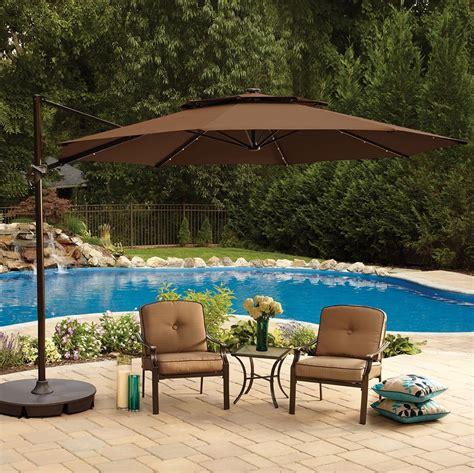 patio umbrellas cantilever the 5 best patio umbrella styles umbrellify net
