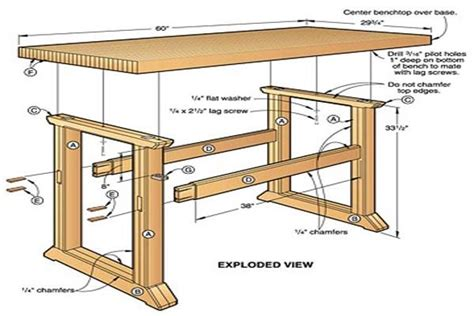 simple woodworking plans build a workbench easy way to decorate your outdoor space