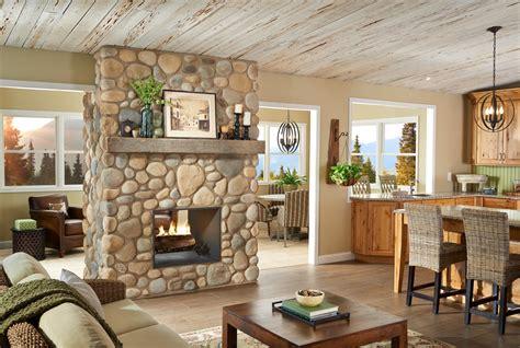 rock fireplaces 10 brilliant fireplace rocks for living room ward log homes