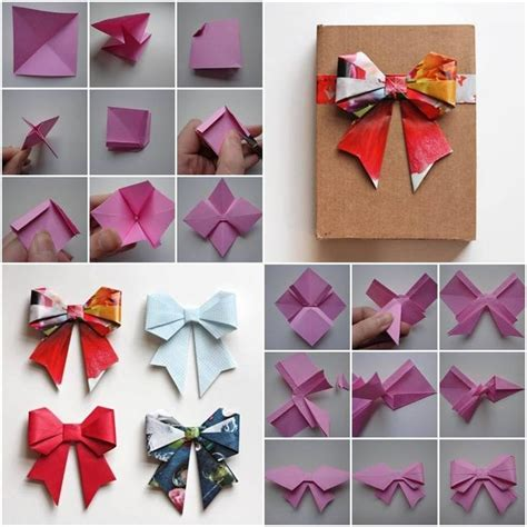 how to make origami things easy 25 unique origami bow ideas on origami paper