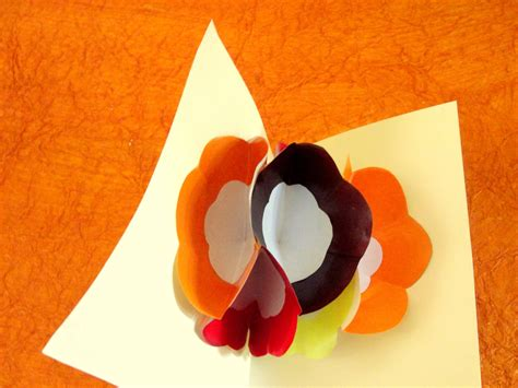 how to make a pop up greeting card how to make a pop up flower greeting card with pictures