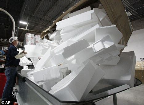 polystyrene manufacturers california considers styrofoam containers ban daily mail