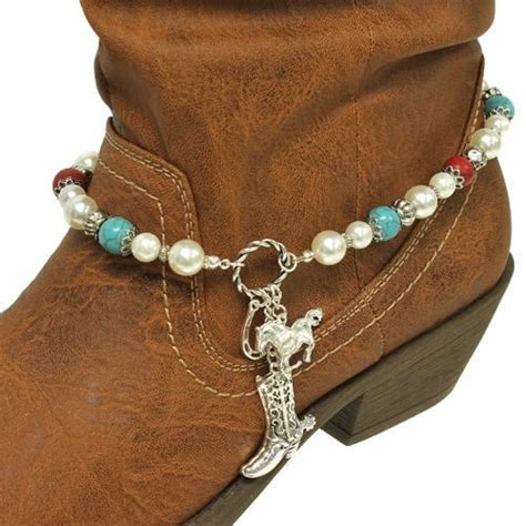 how to make boot jewelry pearl boot charm western cowboy boot jewelry