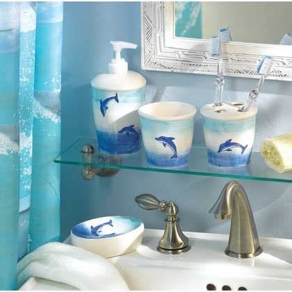 dolphin bathroom accessories dolphin bathroom set cool bathrooms