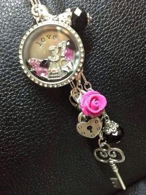 origami owl black locket ideas 1000 images about origami owl living locket ideas on