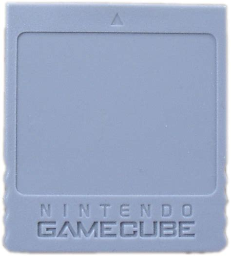how to make a gamecube memory card file nintendo gamecube memory card png